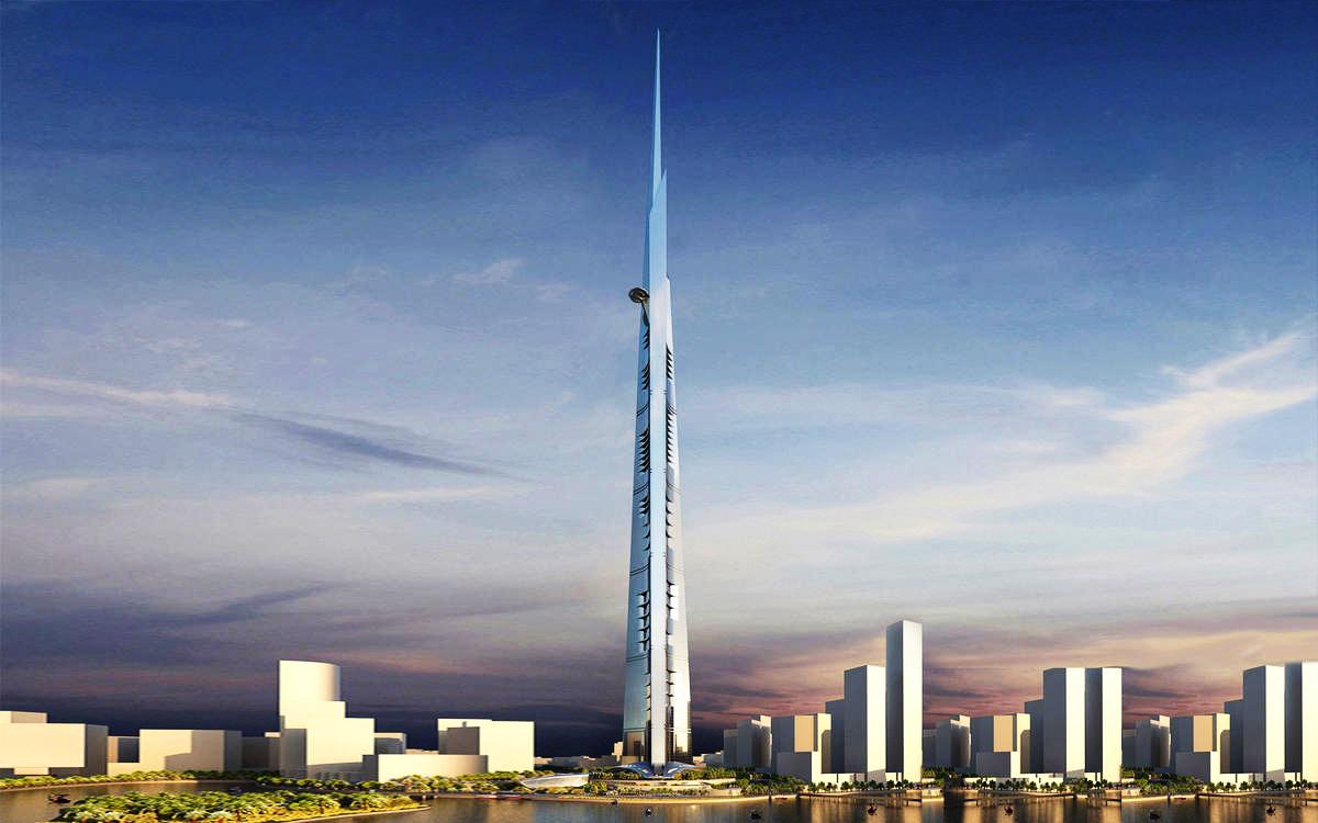 Saudi Arabia Jeddah Kingdom Tower